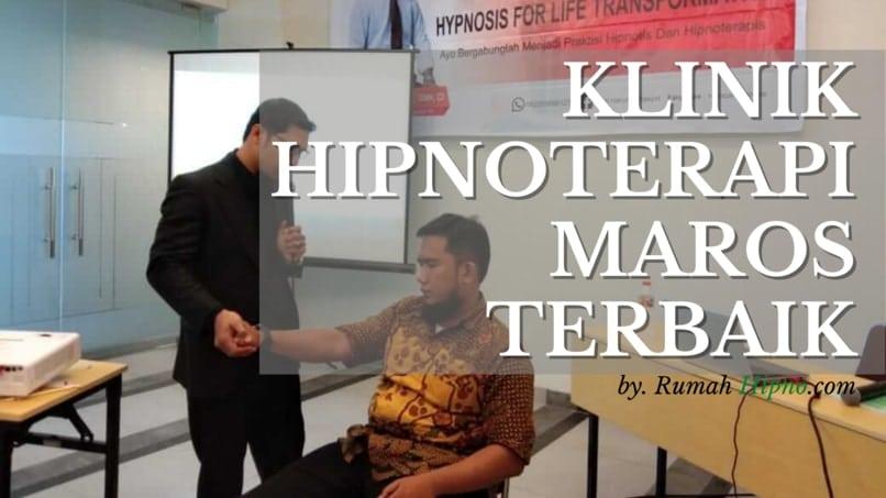 klinik hipnoterapi maros