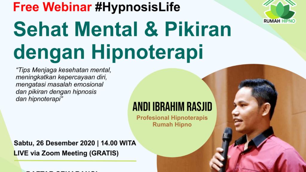 Menjaga Kesehatan mental dengan hipnoterapi